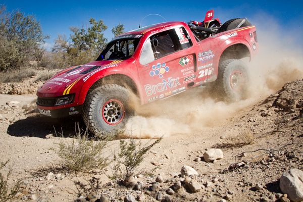 King Shocks Storms the Podium at SCORE San Felipe 250