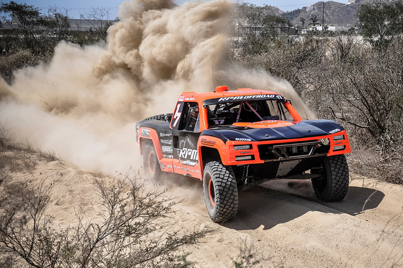 King Shocks On Top at Inaugural BajaSur 500