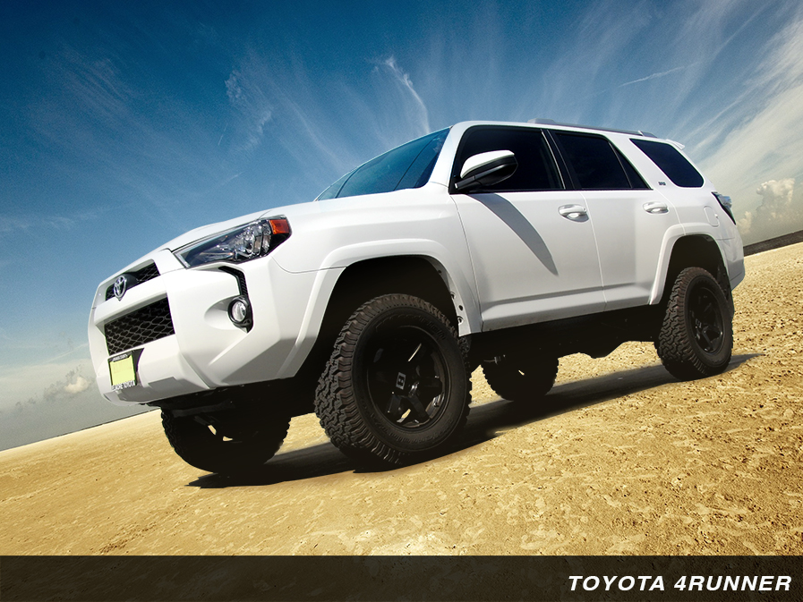 King Shocks Direct bolt-on performance shock kits for Toyota
