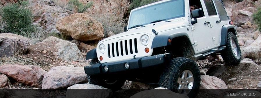 King Shocks Direct bolt-on performance shock kits for Jeeps