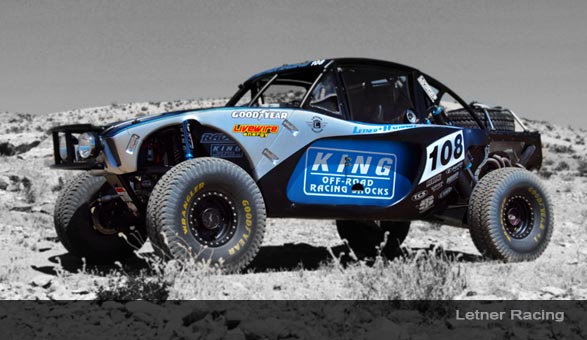 Letner Racing Takes On A New Look King Off Road Racing Shocks