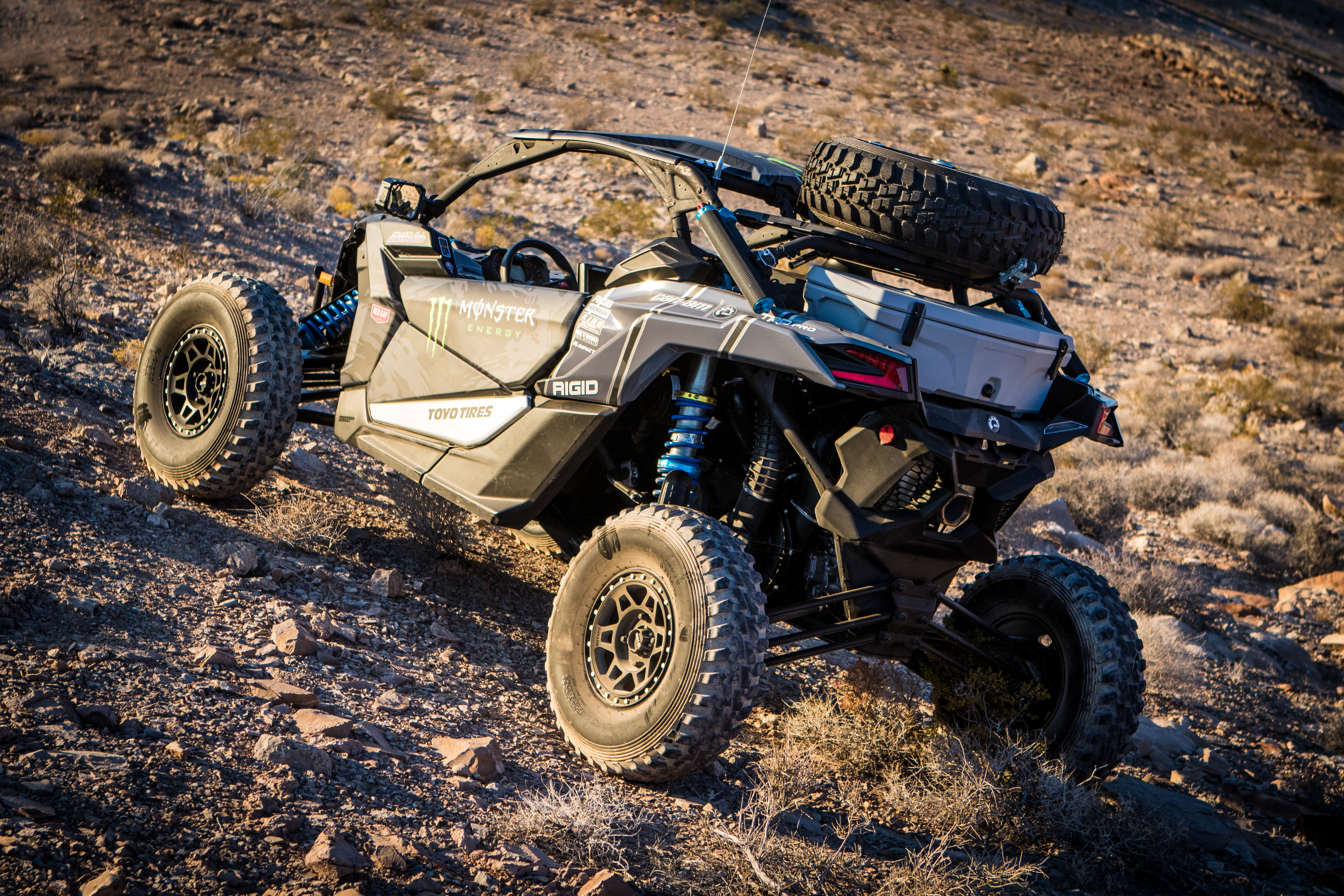 Can-Am « King Off-Road Racing Shocks, Bypass Shocks
