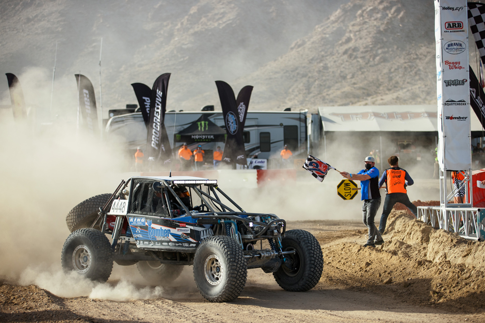King Shocks Sweeps Podium at King of the Hammers
