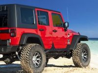 Four Wheeler Magazine installs King Jeep JK 2.0 Shocks